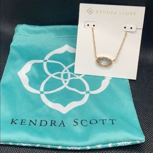 🌟NWT Kendra Scott Elisa Necklace in rose gold